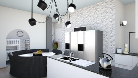 VSHouse Kitchen 3 - Modern - Kitchen - by krystldy