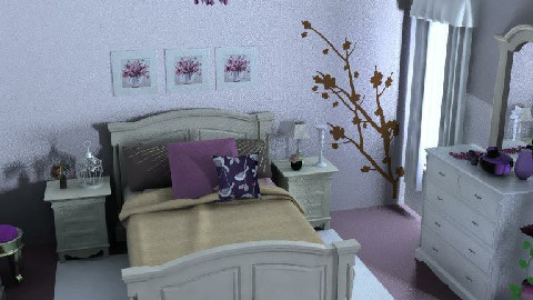 Country Cottage Bedroom - Country - Bedroom - by 88maji88