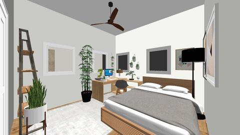 My room - Bedroom - by kabi2576