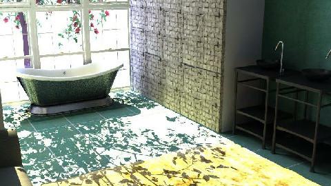 Bathroom with a view - Bathroom - by kiwiwalnut