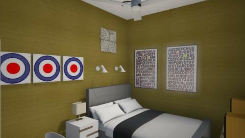 gold e pop 3 - Minimal - Bedroom - by herjantofarhan