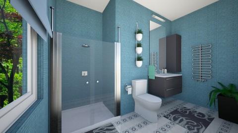 si - Bathroom - by andaq