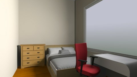 possible basic uni - Minimal - Bedroom - by gecko4537
