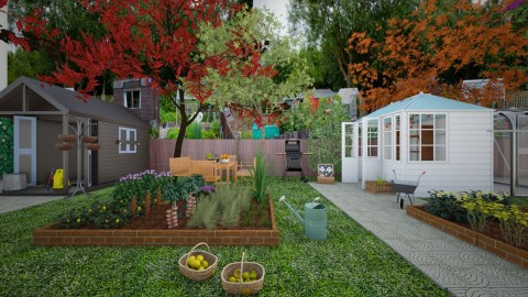 ALLOTMENT - Garden - by ANAAPRIL