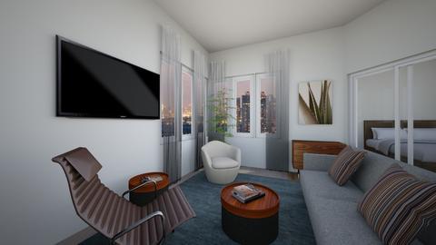 BC1brLi - Living room - by evakarwowska