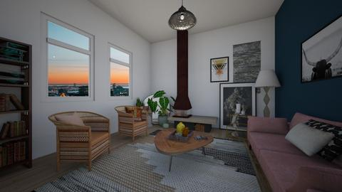 eclectic living room - Living room - by td123