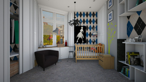 original nursery - Modern - Kids room - by sometimes i am here
