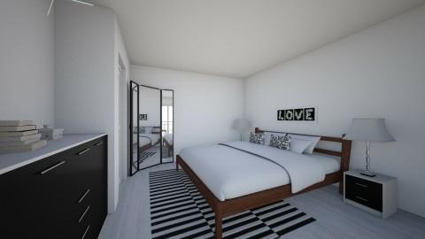 Bedroom redesign - Modern - Bedroom - by andani
