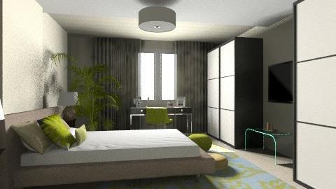 Master bedroom - Bedroom - by julija