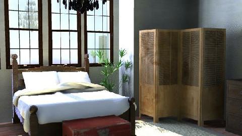 Nirvana Bedroom - Bedroom - by bluecanoe