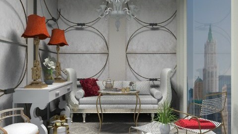 3x3 - Glamour - Living room - by AlSudairy S
