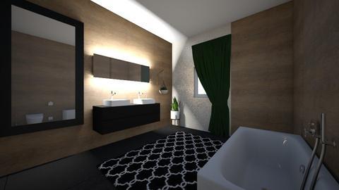Baie sus  - Bathroom - by ardeleanandreea66