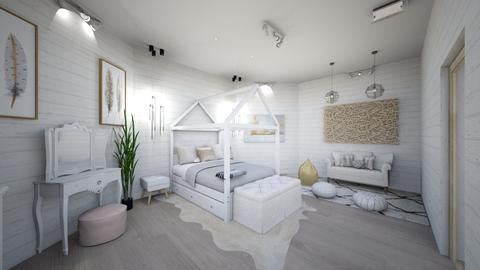 Swedish Room Side - Bedroom - by maddiedelong333