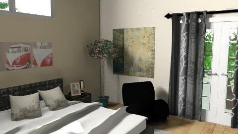 Second Bedroom  - Modern - Bedroom - by lucian_serpi