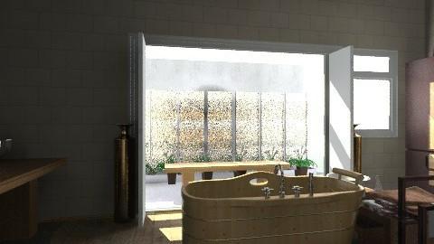 water falls - Modern - Bathroom - by Mulligan Maria