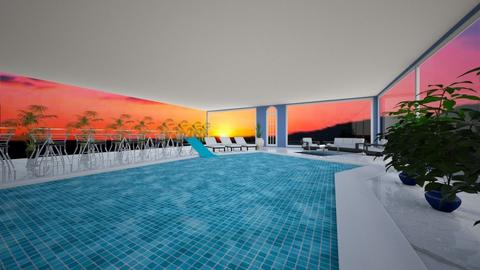 indoor pool - Modern - by interiorsbymeahahalol