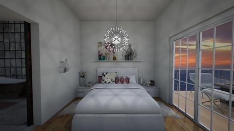 Soft and Crisp - Bedroom - by RoomstylerSusan