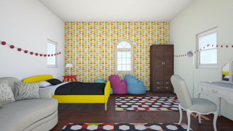 First Bedroom design - Bedroom - by Rose Gold