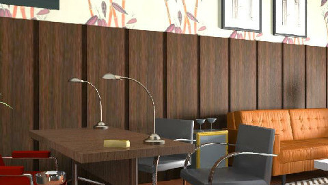 Mad Men style office - Retro - Office - by consider this design