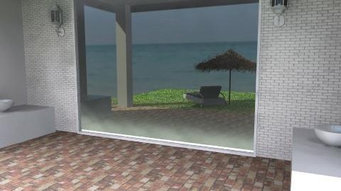 Window  Reflections - Modern - Garden - by Open Spaces