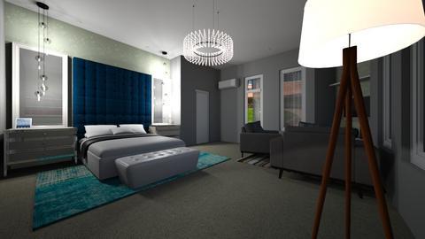 Master bedroom - Modern - Bedroom - by Odilz