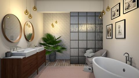 mc blush - Modern - Bathroom - by Ripley86