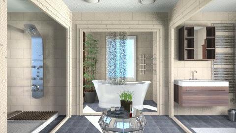 Open bathroom - Modern - Bathroom - by APInteriors