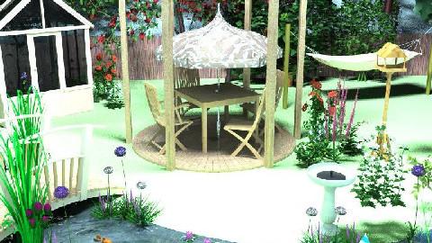 garden 1 - Garden - by creo_forma