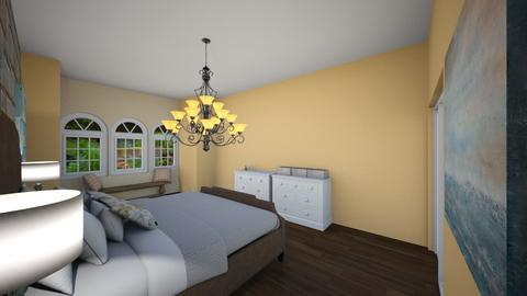 master bedroom - Bedroom - by Raneyshoes1