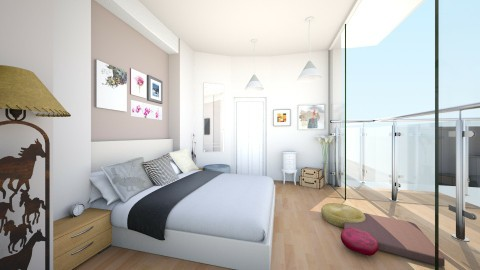 modern white - Bedroom - by Anchal Kainth