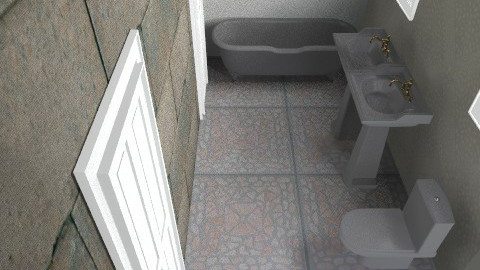 Balogh Csilla - Rustic - Bathroom - by baloghcsilla