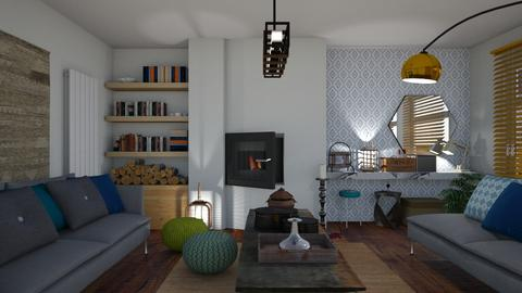 Relax naturally - Living room - by The quiet designer