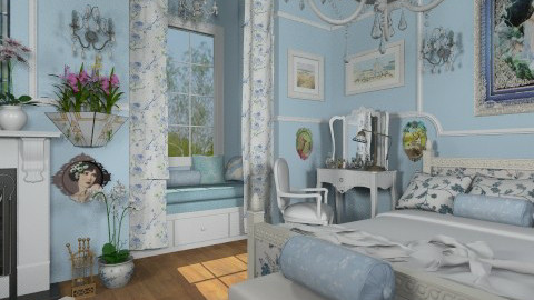 Angela Bedroom - Classic - Bedroom - by Bibiche