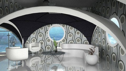 circles - Modern - Living room - by auntiehelen