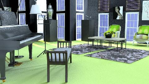 music room - by sadiesmiles