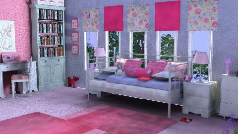 Pink lolipop - by abiza