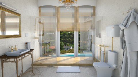 Gold Digger - Modern - Bathroom - by mclaraop