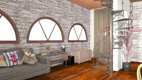 small room - Rustic - by Navaja Larissa