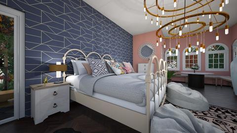 bedroom - by oliviabonnot