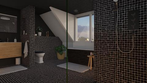 Attic bath - Bathroom - by the ice magical unicorn