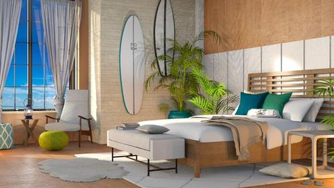 Surf Bedroom - Modern - Bedroom - by millerfam