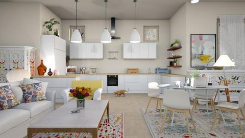 Folklore_Kitchen - Kitchen - by ZuzanaDesign