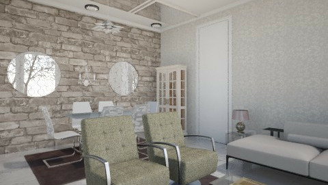 classic - Glamour - Living room - by Debora Cris