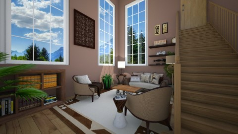 forest - Living room - by Dijana93
