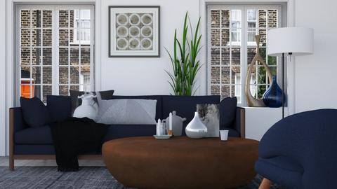 Cozy Blue - Modern - Living room - by HenkRetro1960