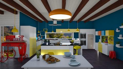 colorfull kitchen - Eclectic - Kitchen - by soralobo