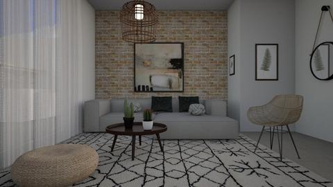 1666 - Living room - by Riki Bahar Elbaz