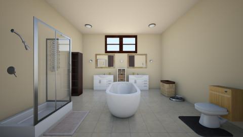 Master Bathroom - Bathroom - by karisaluera