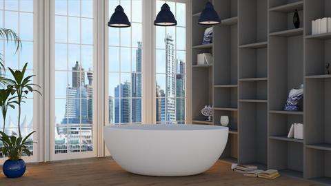 bathroom 1 - Modern - Bathroom - by NEVERQUITDESIGNIT