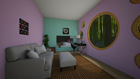 living room bedroom - by The vamps lover